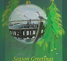 Fisherman's Wharf - Christmas by Ellanita