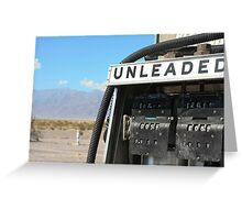 Stovepipe Wells Greeting Card