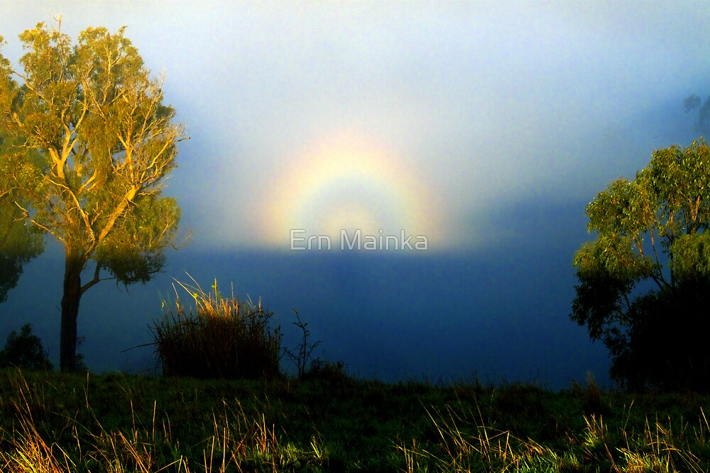 Brocken Spectre and Glory by Ern Mainka