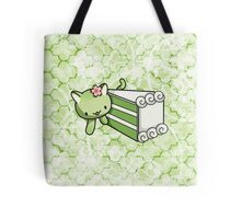 Gateau Matcha Kitty Tote Bag