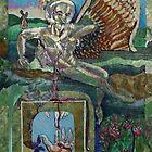 Transcendentalism (Mixed Media Acrylics)- by Robert Dye