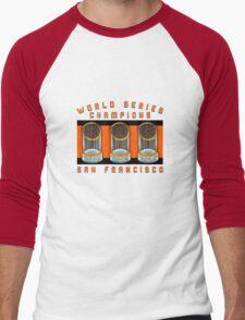World Series Champions  Men's Baseball ¾ T-Shirt