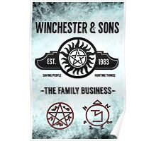 Winchester And Sons - Heaven Version Poster