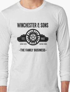 Winchester And Sons - Heaven Version Long Sleeve T-Shirt