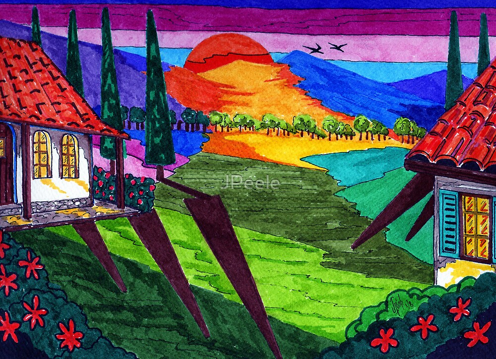 Wine Country by James Peele