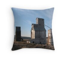 Tumbleweed Tombstones Throw Pillow