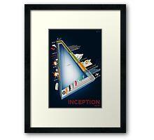Inception Timeline Framed Print