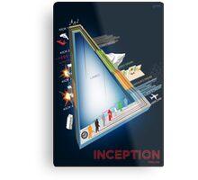 Inception Timeline Metal Print