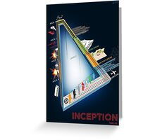 Inception Timeline Greeting Card