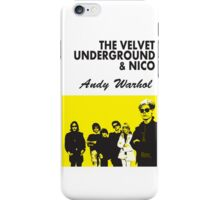 The Velvet Underground/Andy Warhol iPhone Case/Skin