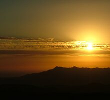 Goodnight - - Mt Read golden sunset at Rosebery by gaylene