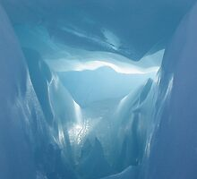 Ice Cave by Kim Langmaid