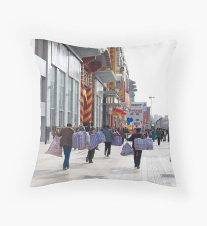 street scene 29 Throw Pillow