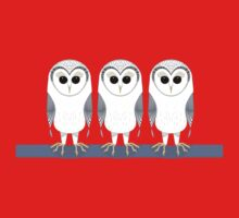 OWL TRIPLETS One Piece - Short Sleeve