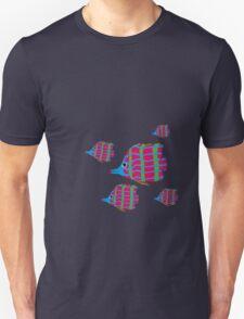 5 pink fish T-Shirt