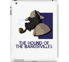 THE HOUND OF THE BARKERVILLES iPad Case/Skin