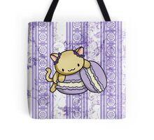 Macaron Kitty Tote Bag