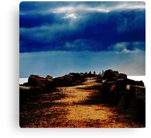 Pathway to a Darkened Sky Canvas Print