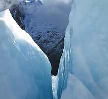Franz Josef Glacier by Kim Langmaid