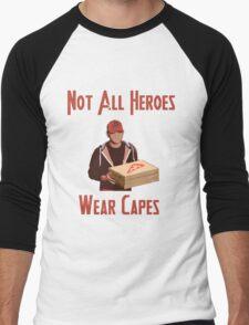 Pizza Hero Men's Baseball ¾ T-Shirt