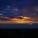 Sunset from Shangri-la (Landscape) by frozenfa