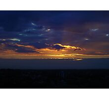Sunset from Shangri-la (Landscape) Photographic Print
