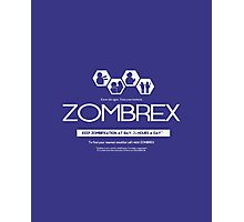 ZOMBREX Ad Photographic Print