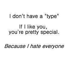 Don't have a type by kryzanty