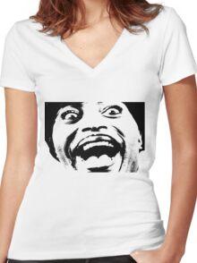 Little Richard Women's Fitted V-Neck T-Shirt