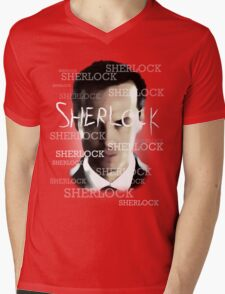 Moriarty's Cell  Mens V-Neck T-Shirt