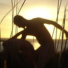 Silhouette Dance - Shooters Gallery by Anthea  Slade