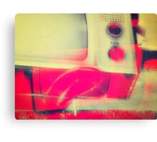change the channel Canvas Print