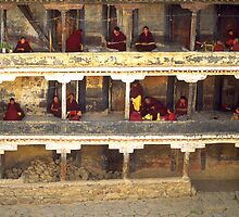 School in Tibet by Phillip  McCordall