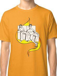 Procrastinate - flame drop Classic T-Shirt