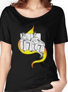 Procrastinate - flame drop Women's Relaxed Fit T-Shirt