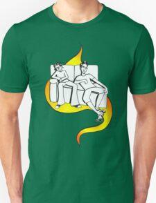 Procrastinate - flame drop Unisex T-Shirt