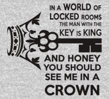 Moriarty Key Quote - Black Text Kids Clothes