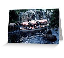 Jungle Cruise Greeting Card
