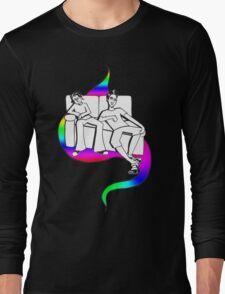 Procrastinate - rainbow drop Long Sleeve T-Shirt