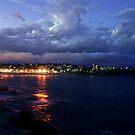 Coogee Beach, Sydney by Damian Kuczynski