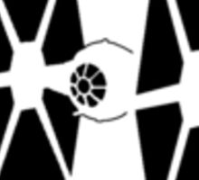 TIE-FIGHTER Minimalist  Sticker