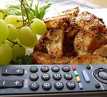 TV Dinner! - Potato Wedges - New Zealand by AndreaEL