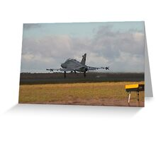 Hawk Takeoff Greeting Card