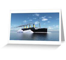 Le Titanic Greeting Card