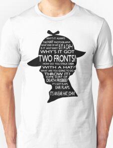 Sherlock's Hat Rant - Light Unisex T-Shirt