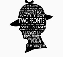 Sherlock's Hat Rant - Light Womens Fitted T-Shirt