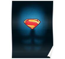 Superman - Man of Steel Suit Poster