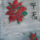 Poinsettia on Snow by * RoyAllenHunt *