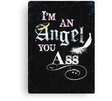 I'm An Angel Canvas Print