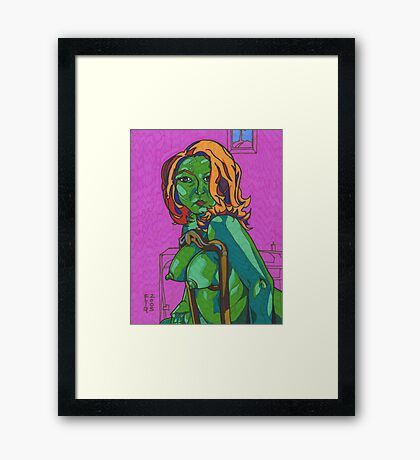 Perfect Sensuality Framed Print